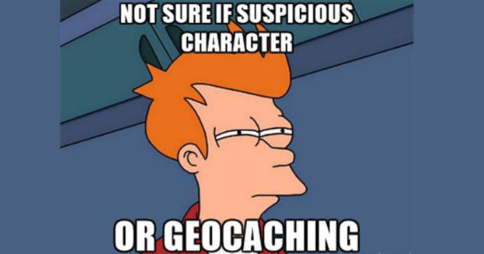 Geocaching Muggle
