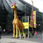 Lego giraf Berlijn