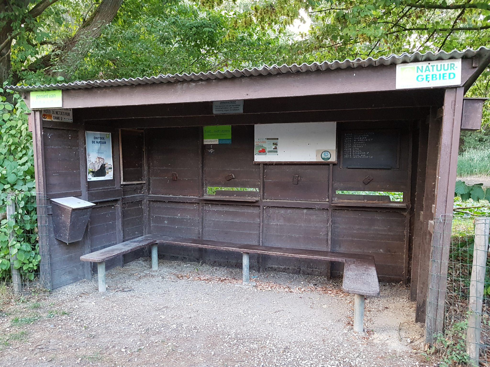 Vogelkijkhut Merelbeke Liedermeerspark