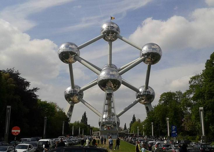 Geocaching Brussel - Atomium
