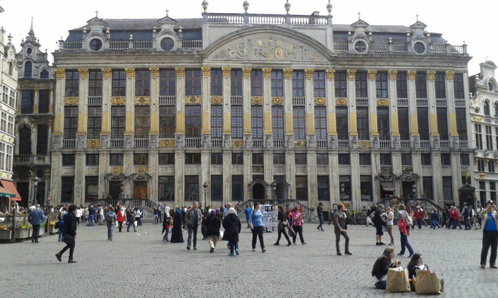 Geocaching Brussel - Grote markt