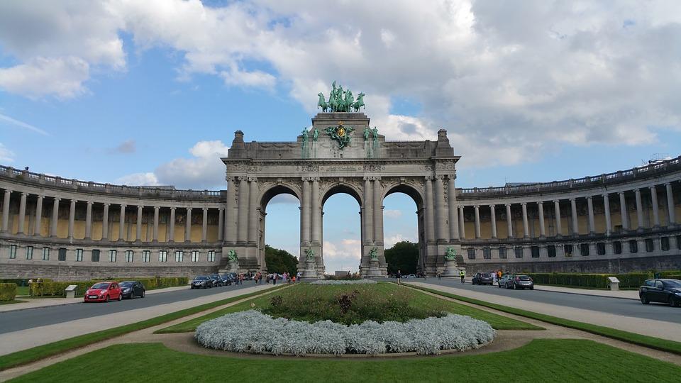Geocaching Brussel - Jubileum Park