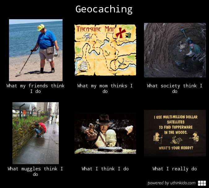 Geocaching Meme Geocaching uitleggen