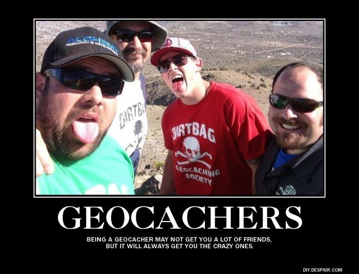Geocaching Meme vrienden