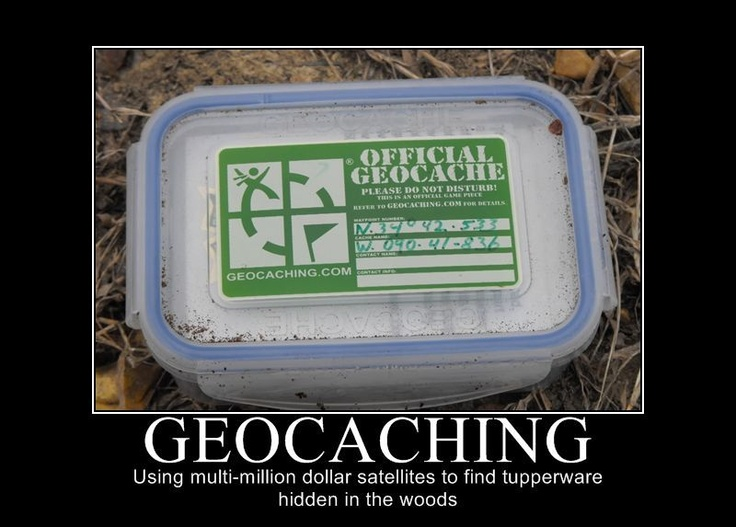 Geocaching Meme - wat is geocaching