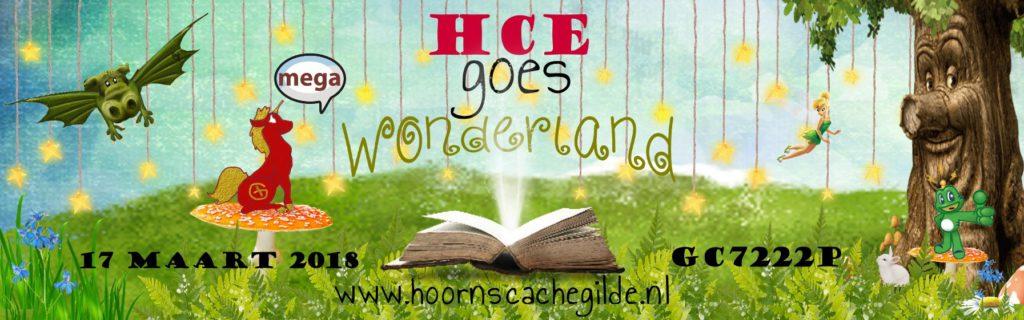 Hoorns Cache event 2018 - HCE goes Wonderland