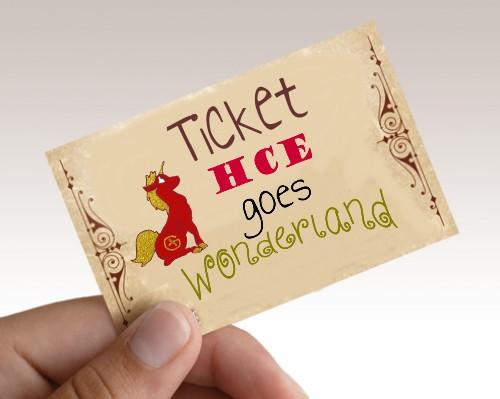 Hoorns Cache event 2018 - Ticket wonderland