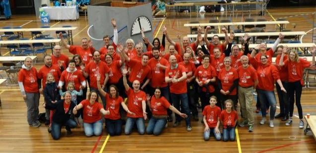 Hoorns Cache event - vrijwilligers en crew 2017