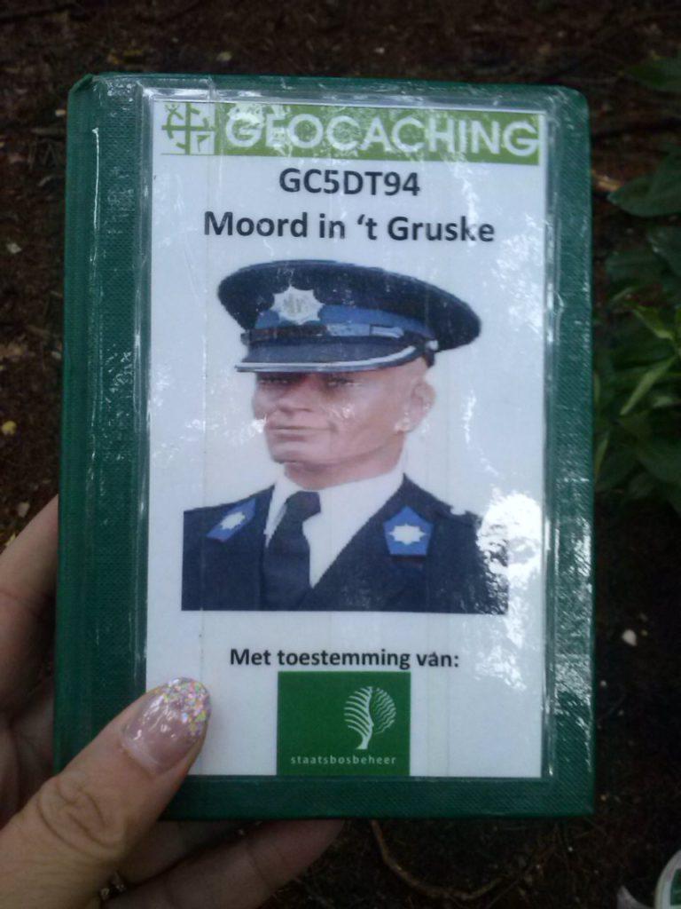Geocaching Nijmegen - moord in het Gruske