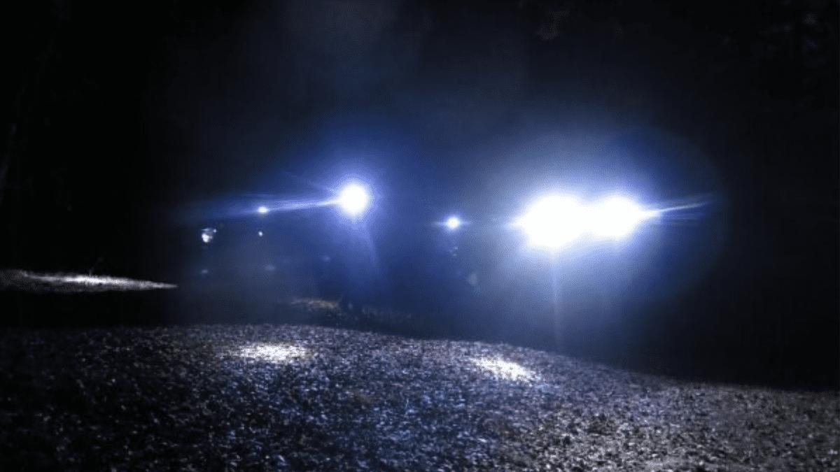 Geocaching met zaklamp
