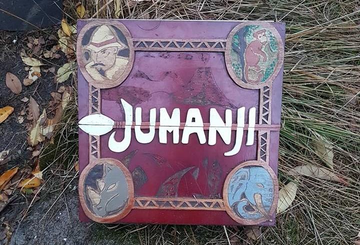 Jumanji Geocaching