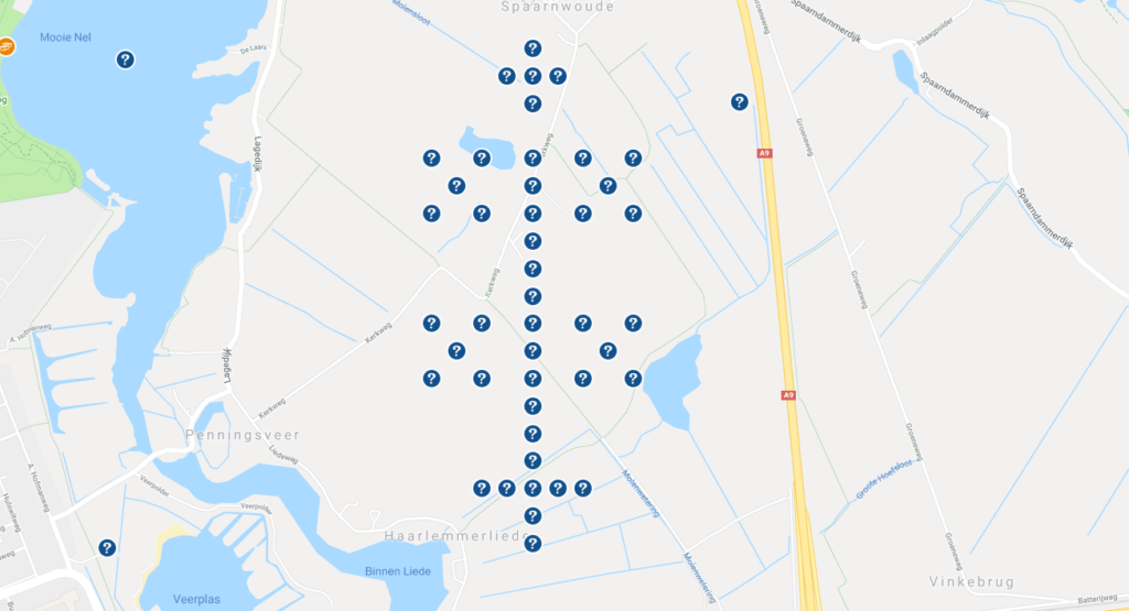 geo-art wapen van Haarlem