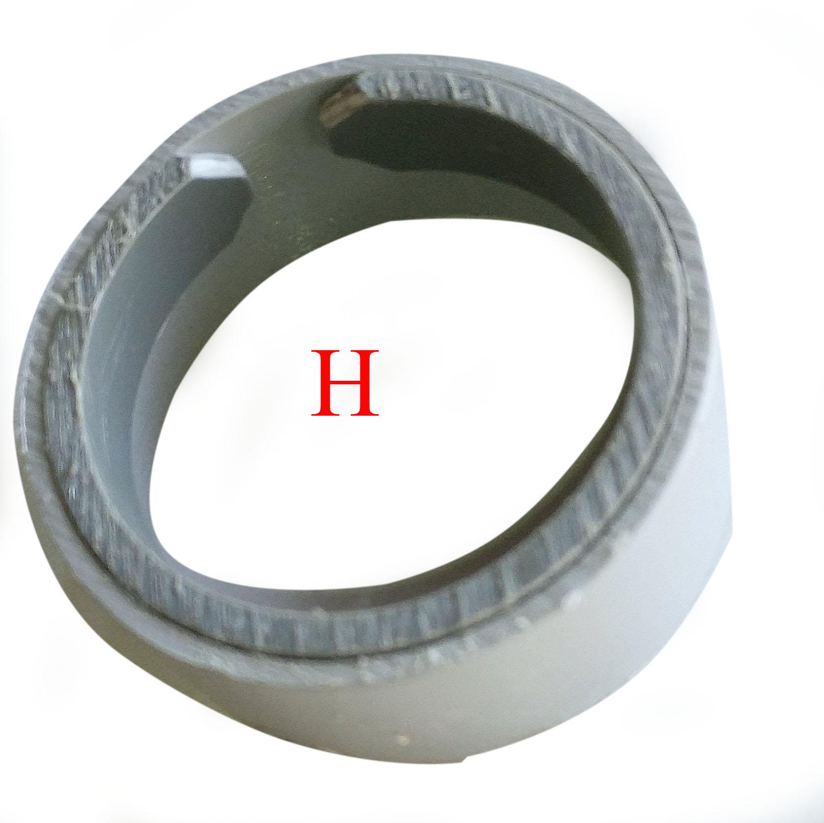 Cryptex maken - ringen in elkaar plakken