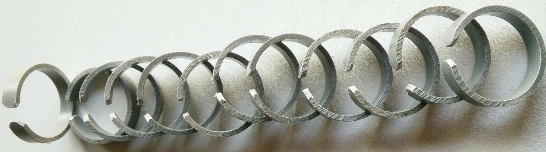 Cryptex maken - ringen maken en afronden