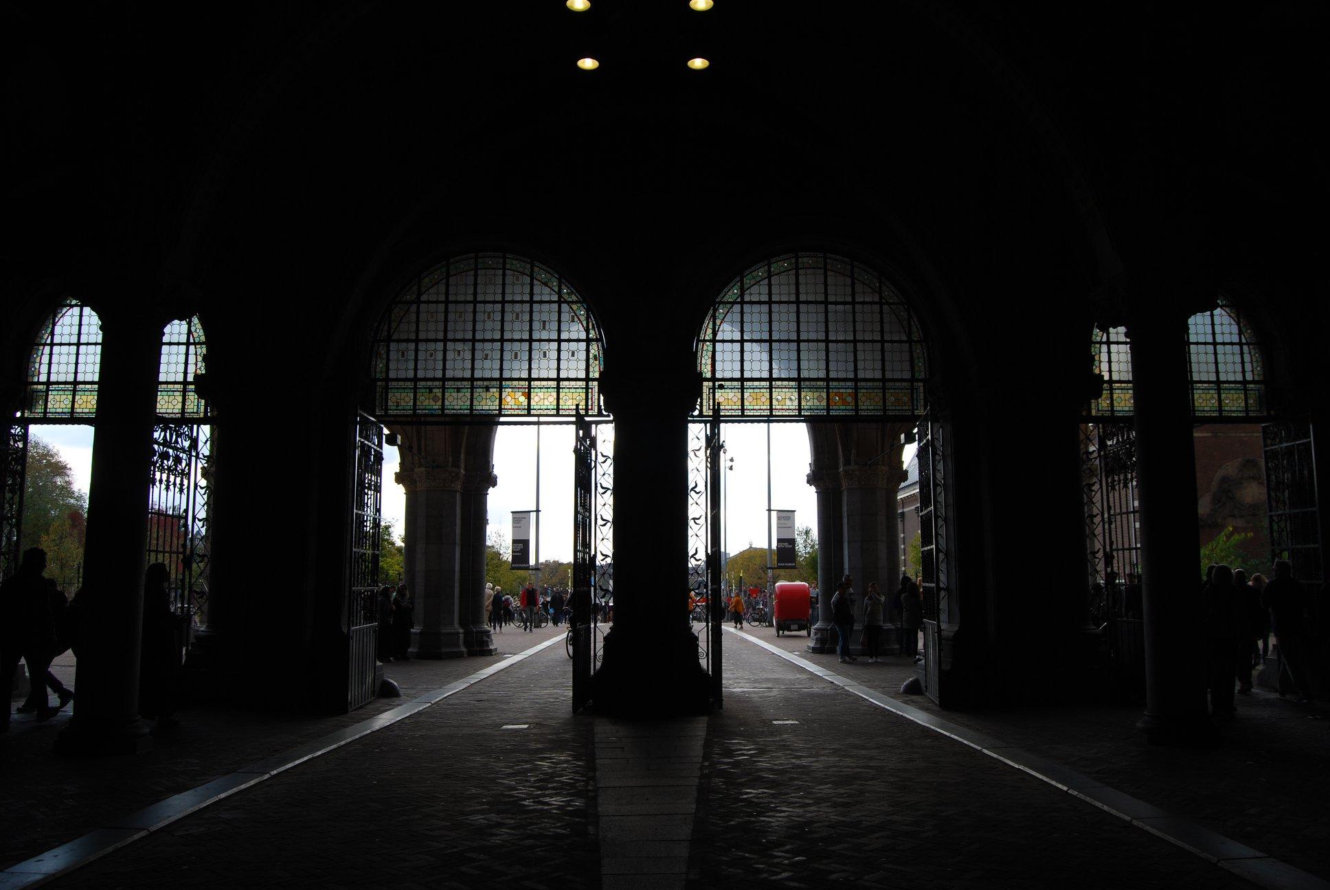 Rijksmuseum Amsterdam ingang