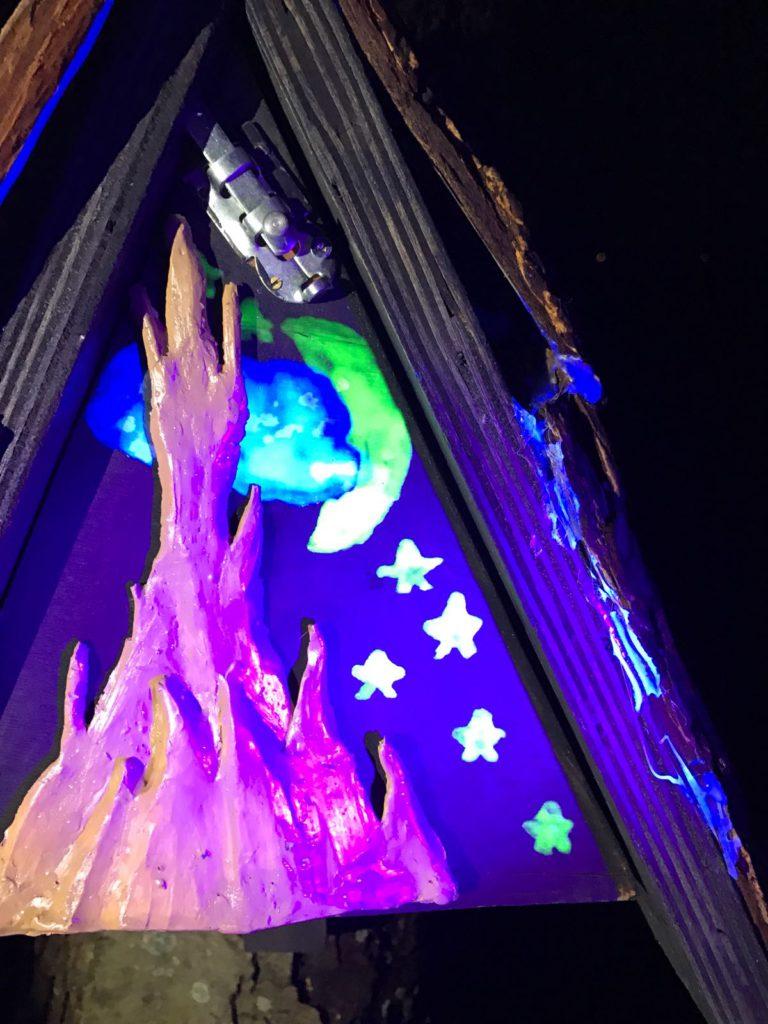 Creatieve geocaches - UV-spoor van Klaas Vaak