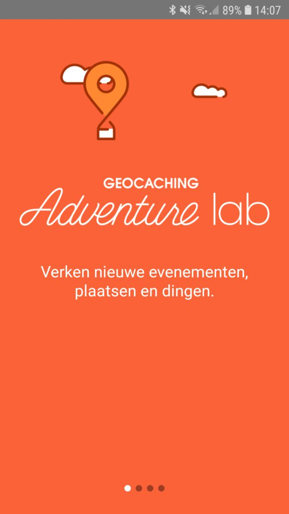 Geocaching Adventure Lab - app