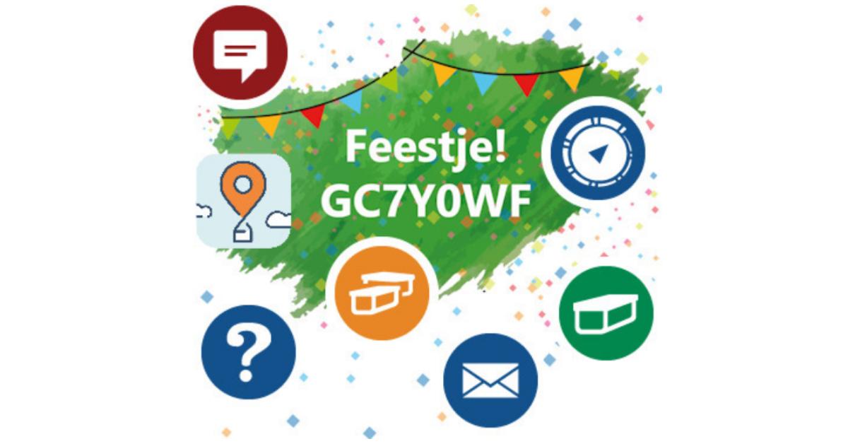 Geocachingshop Feestje 10 jaar