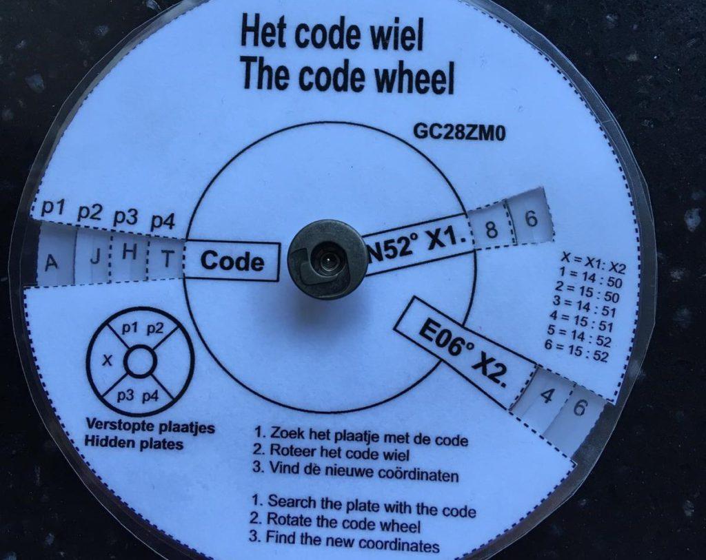 Het Code wiel