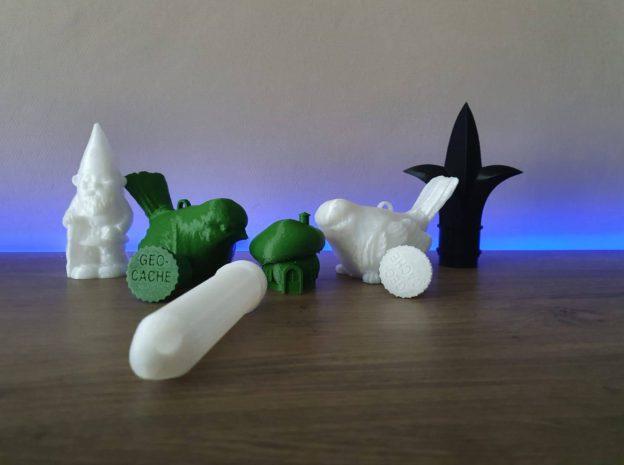 3D-geprinte geocaches