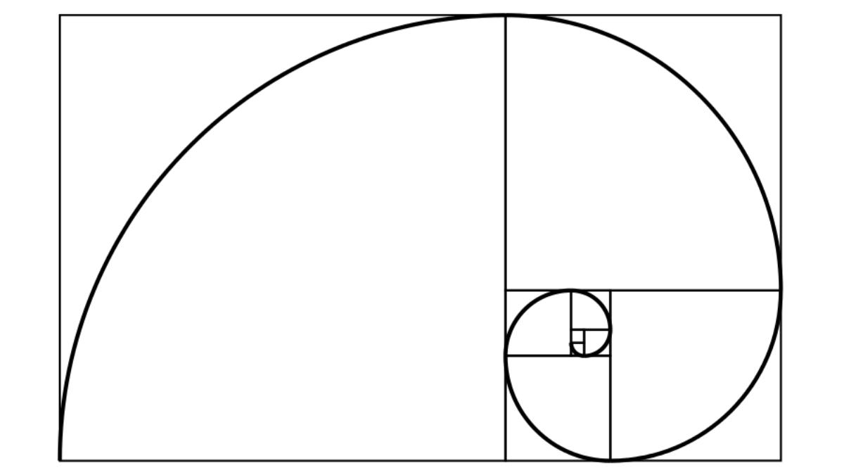 Fibonacci spiraal