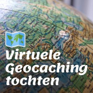 Virtuele Geocaching tocht