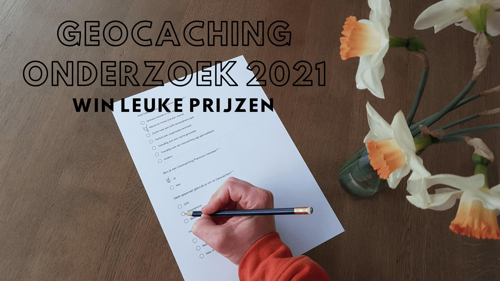 Geocaching Onderzoek 2021