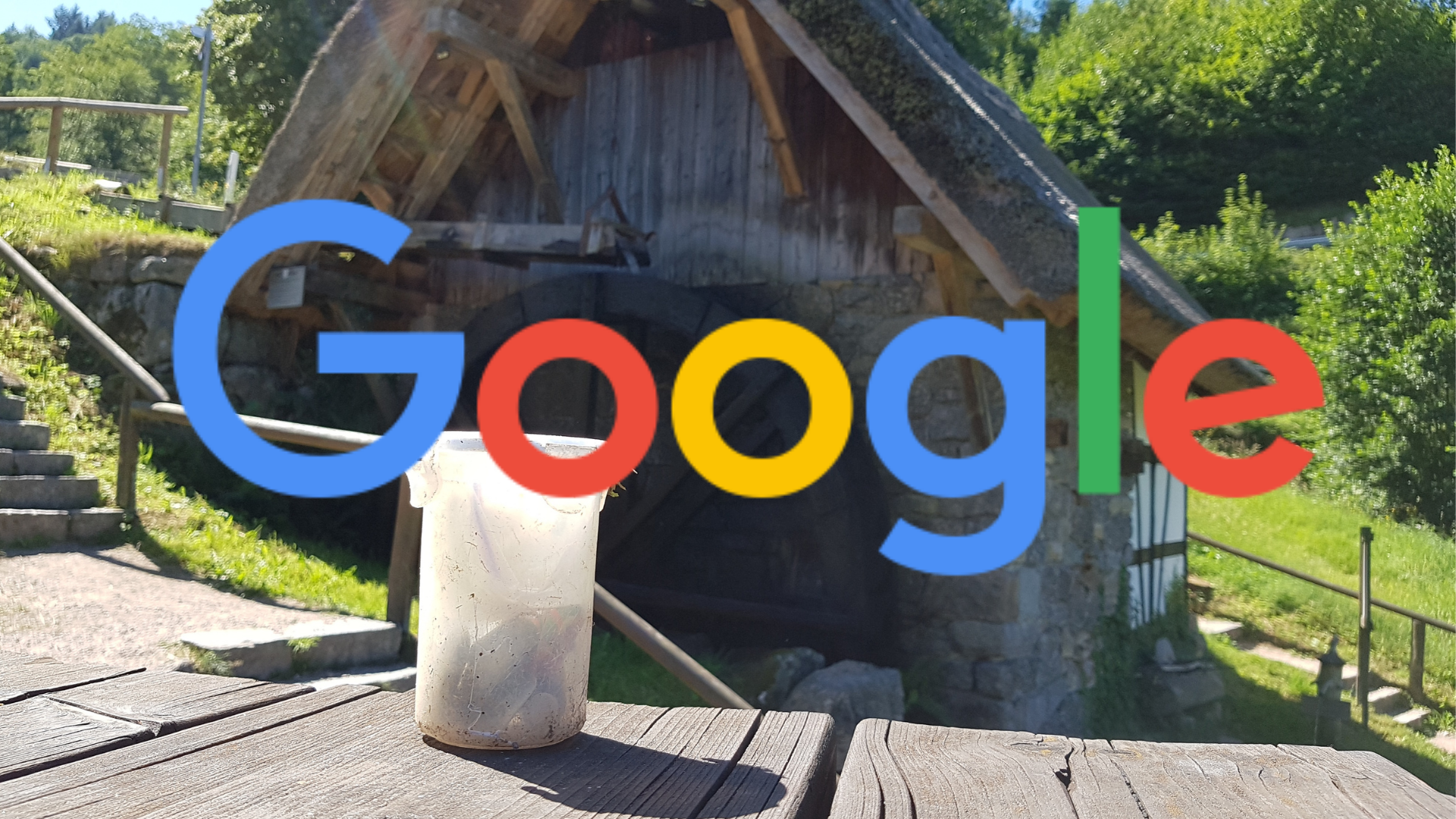 Geocaching ABC van Google